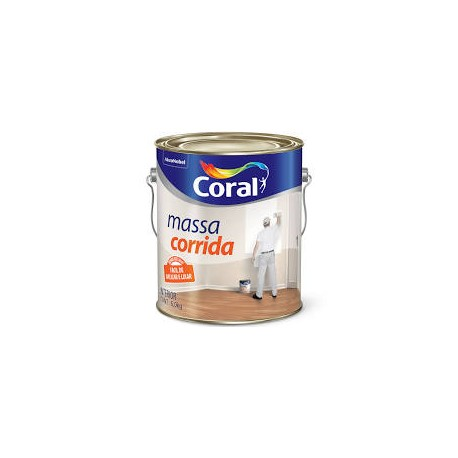 MASSA CORRIDA PVA 6KG CORAL