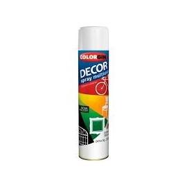SPRAY COLORGIN DECOR BCO FOSCO