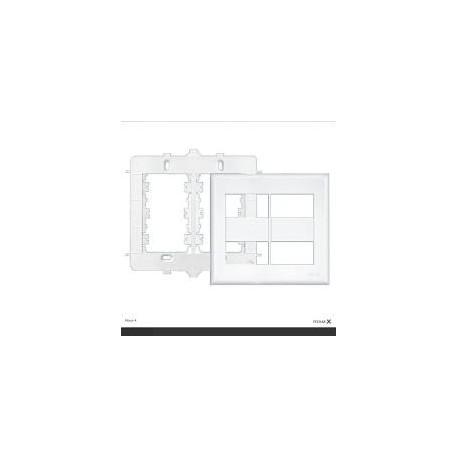 PLACA 4X4 C/ SUPORTE 4 MOD 2892 FAME