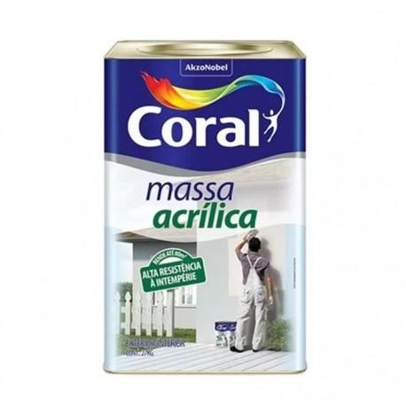 MASSA ACRILICA 25KG CORAL