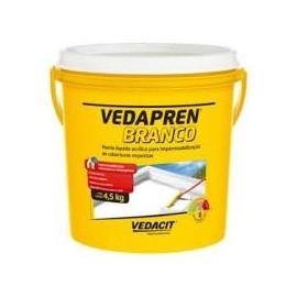 VEDAPREN BRANCO 4,5KG VEDACIT