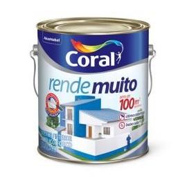 TINTA ACR 3,6LTS RENDE MUITO BRANCO CORAL